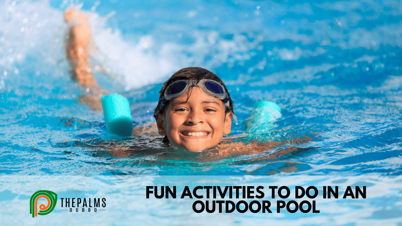 Fun Activities to do in an Outdoor Pool