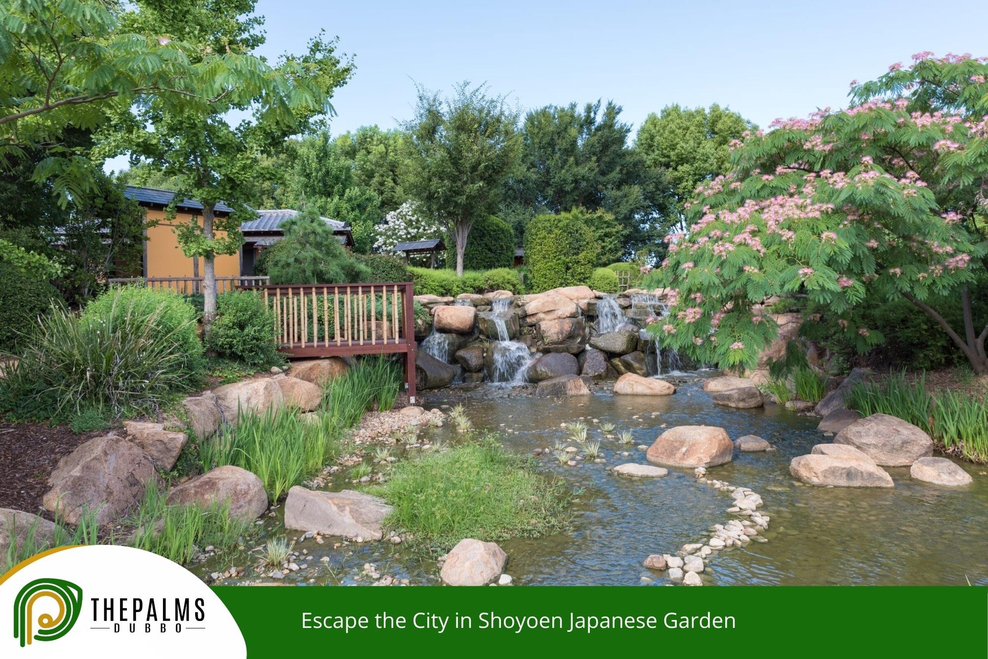 Escape the City in Shoyoen Japanese Garden