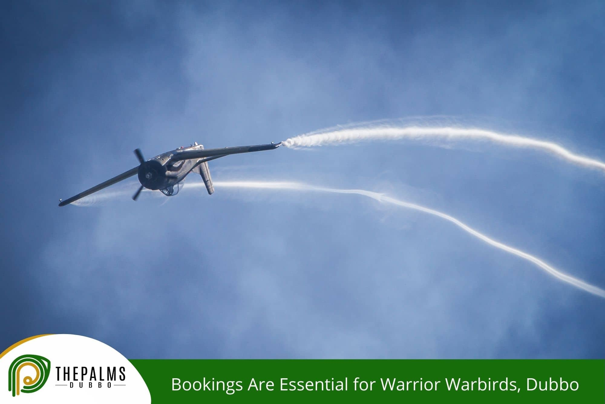 Bookings Are Essential for Warrior Warbirds, Dubbo