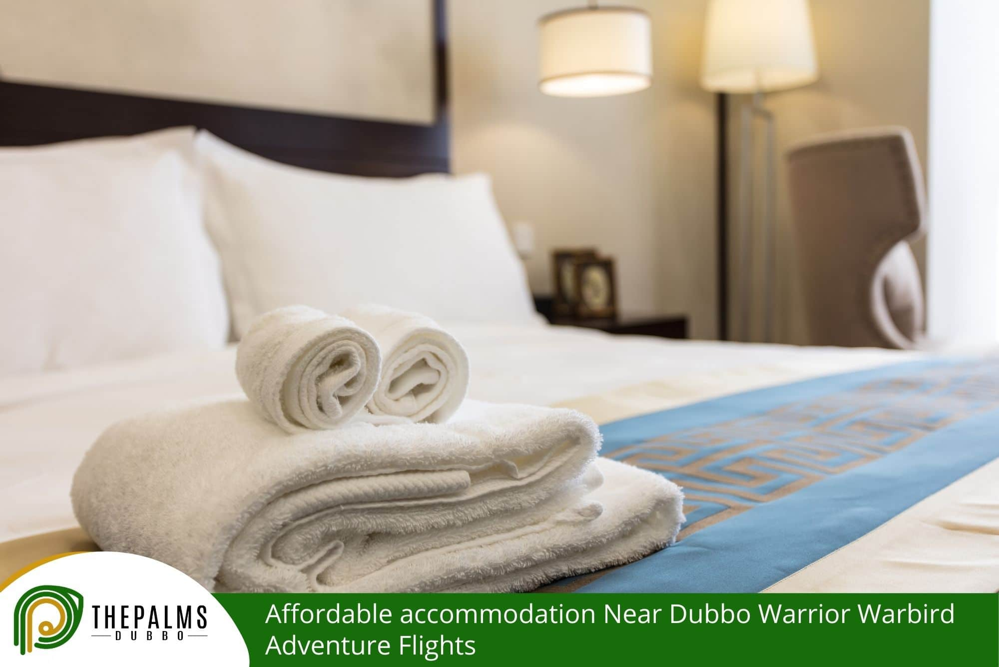 Affordable accommodation Near Dubbo Warrior Warbird Adventure Flights