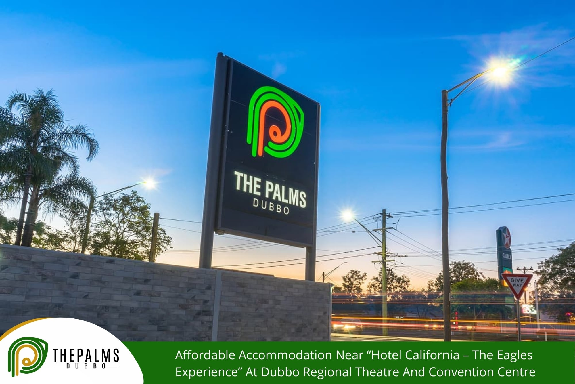 """Affordable Accommodation Near """"Hotel California – The Eagles Experience"""" At Dubbo Regional Theatre And Convention Centre"""