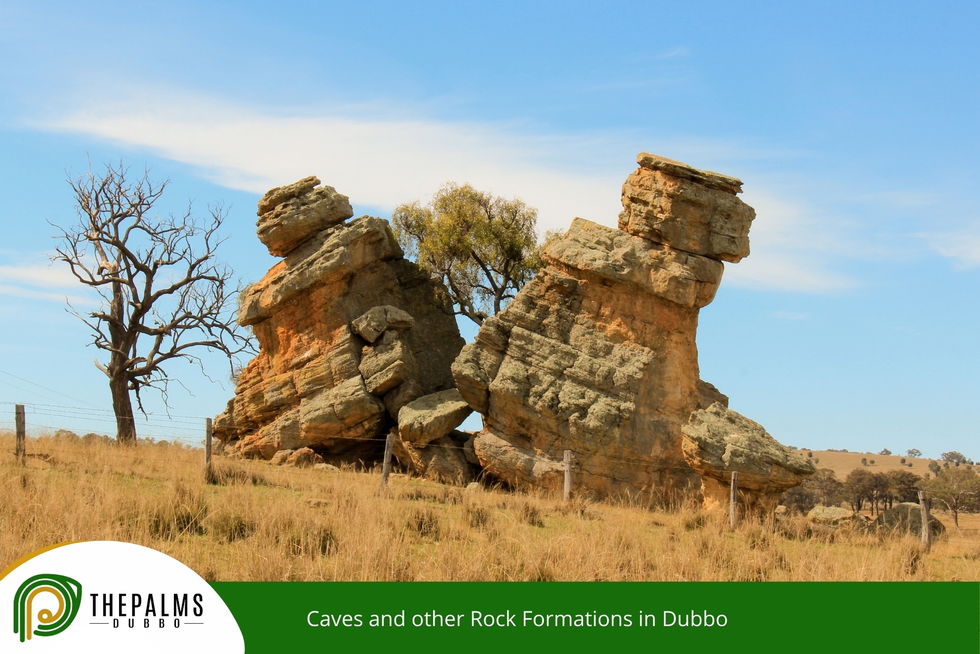 Caves and other Rock Formations in Dubbo