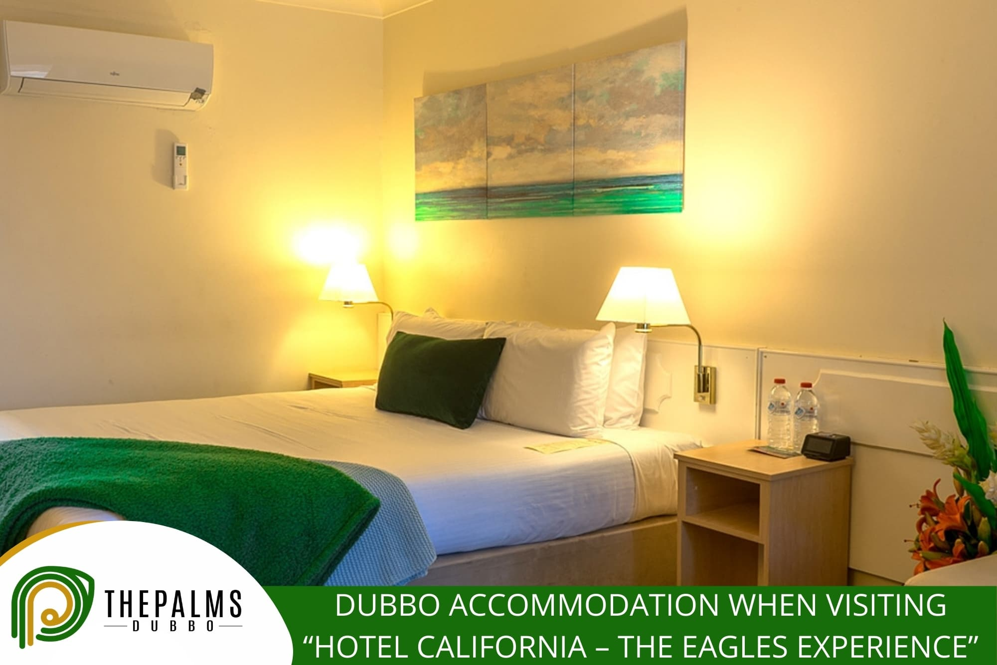 """Dubbo Accommodation When Visiting """"Hotel California – The Eagles Experience"""""""