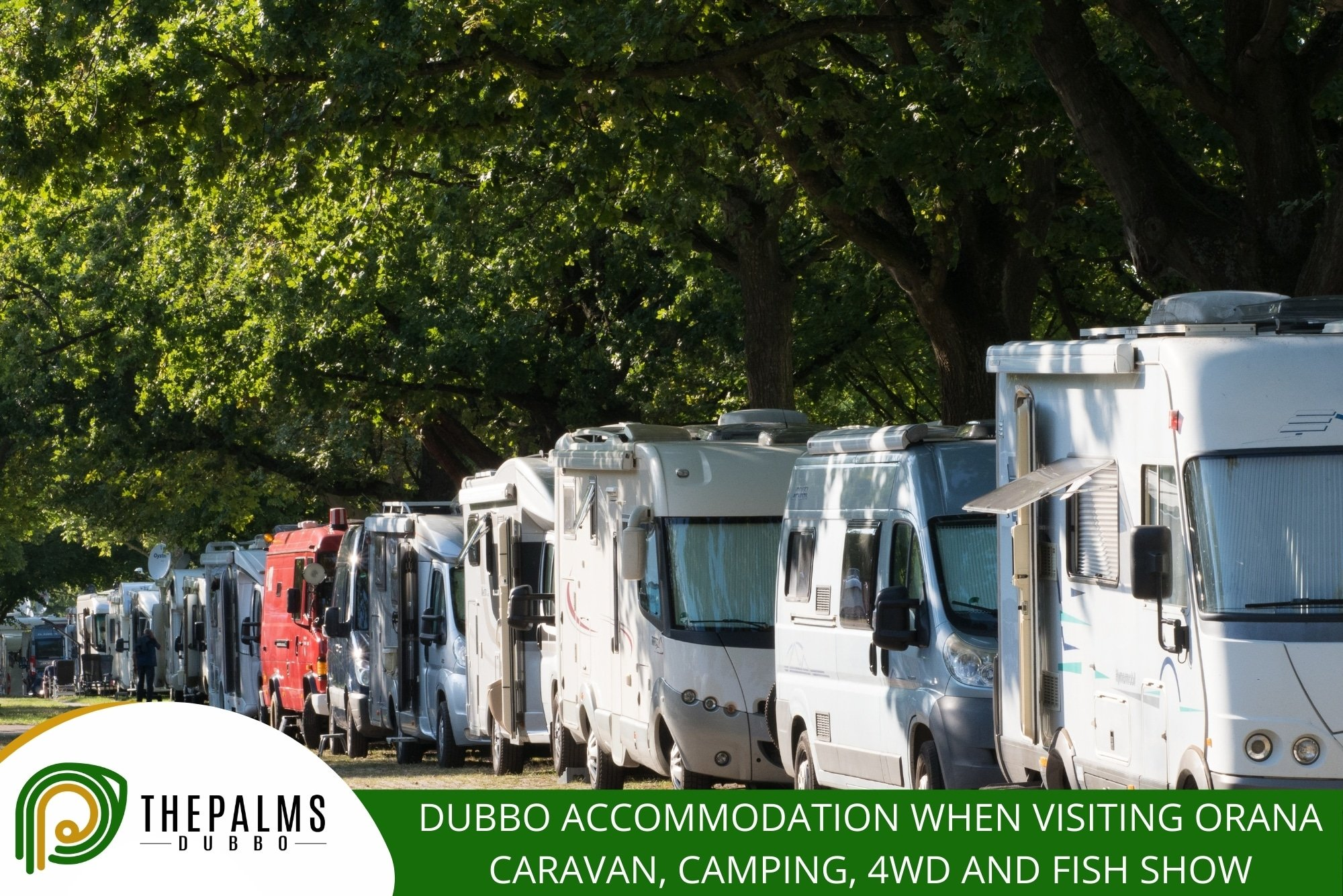 Dubbo Accommodation When Visiting Orana Caravan, Camping, 4WD And Fish Show