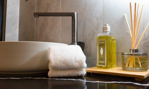 premier king room bathroom accessories
